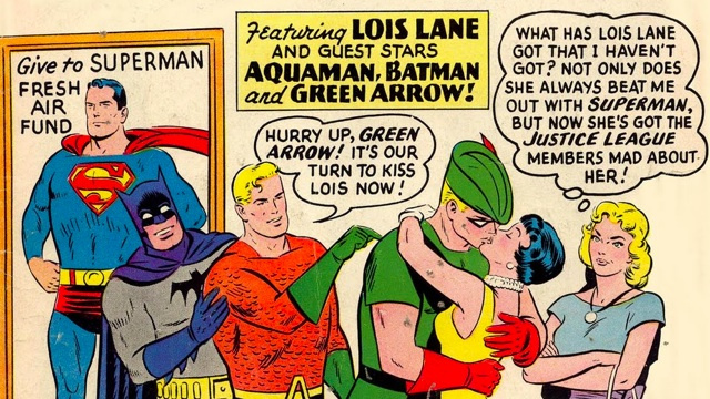 More classic comic covers transformed into weirdo GIFs
