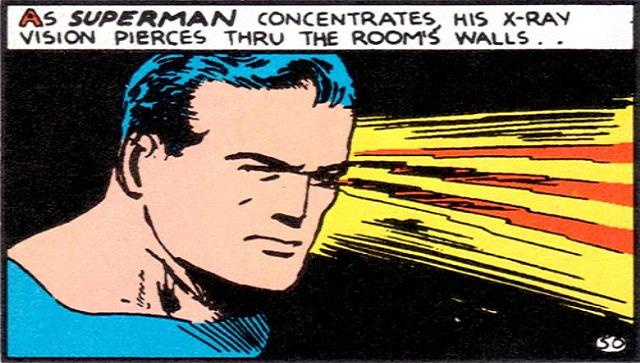 Can Superman see through superconductors?