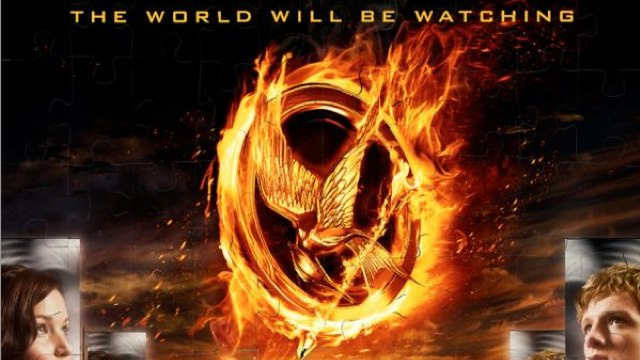 New Hunger Games poster throws Peeta and Katniss into the arena