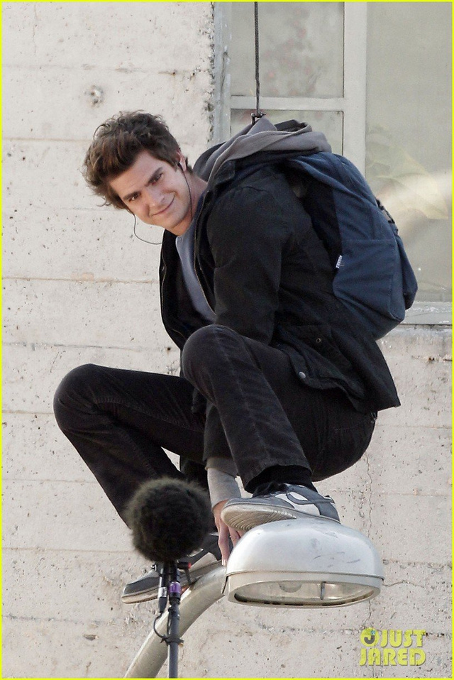 Amazing Spider-Man Set Photos