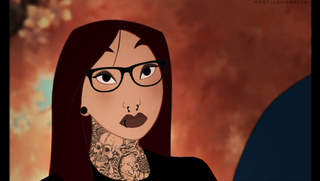 Disney Princesses reimagined as Punk Rock Heroines