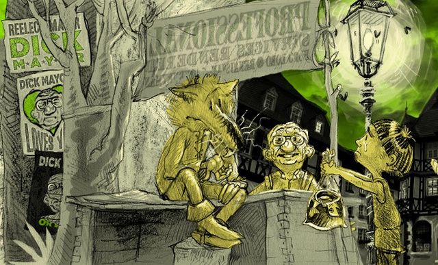 Hobo Lobo is a gorgeous, three-dimensional webcomic about the Pied Piper