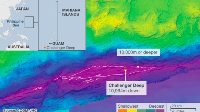The deepest trench on Earth is even deeper than we thought