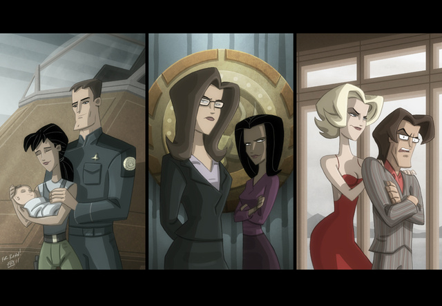 What would Battlestar Galactica: The Animated Series have looked like?