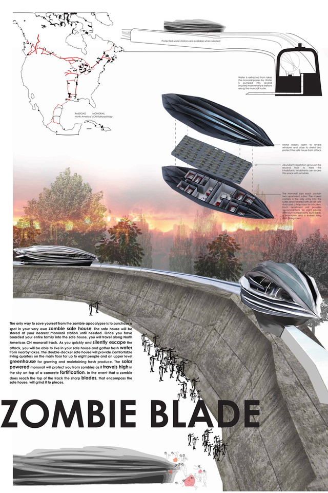 20 Ridiculously Nifty Zombie Safe House Designs