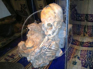 Triangle-Headed Alien Mummy discovered in Peru — we're not alone!