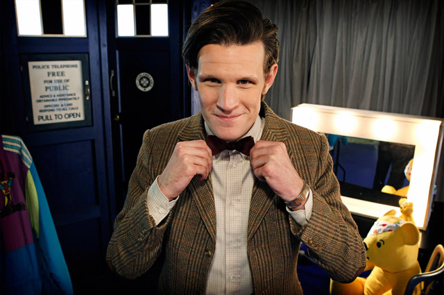 Doctor Who Children in Need Set Pictures