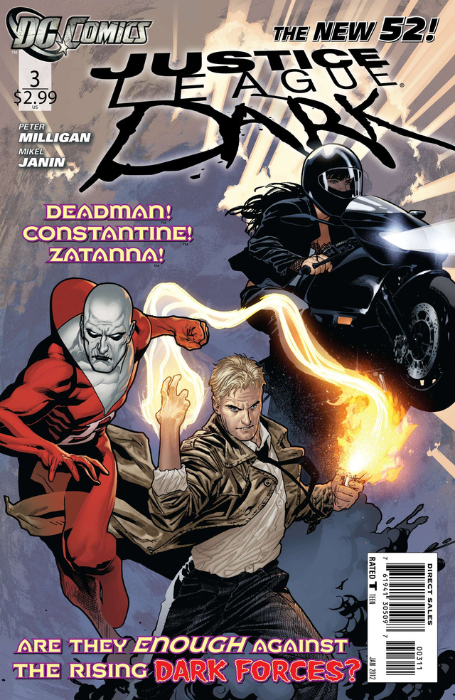 An exclusive preview of Justice League Dark, starring John Constantine, Shade the Changing Man, and other magical lunatics!