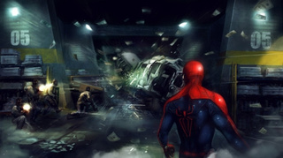 Amazing Spider-Man Video Game Concept Art
