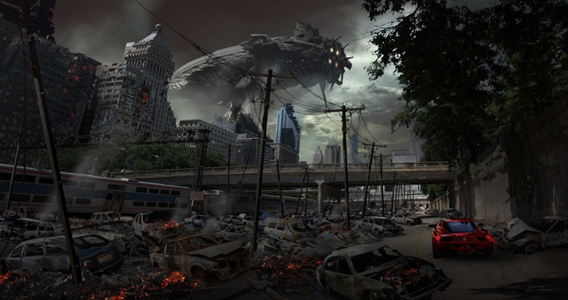 Amazing Concept Art That Makes You Wish Aliens Would Come and Kill Us All