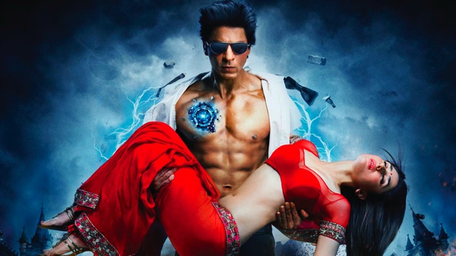 Bollywood superhero flick Ra.One is like Tron with dance numbers and crotch punches