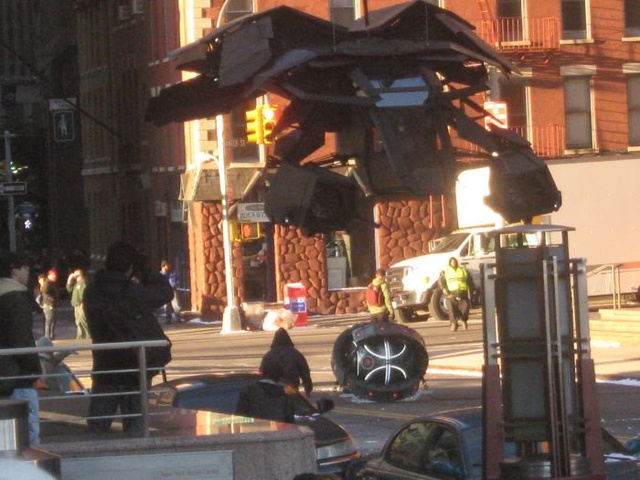 The Dark Knight Rises — Bane's Earthquake Machine Set Pictures
