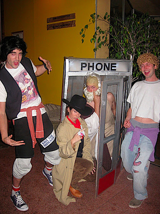 The World's Most Excellent Ensemble Halloween Costume: Bill and Ted's Time-Traveling Friends