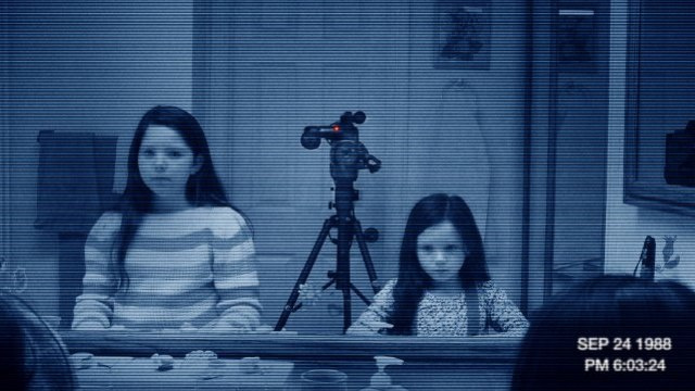 Paranormal Activity 3: Actually scary, unlike Paranormal Activity 2
