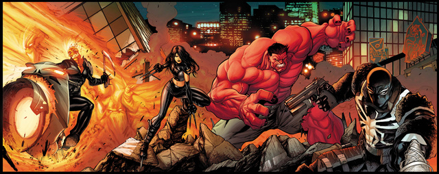 Marvel resurrects the New Fantastic Four with X-23, Red Hulk, Venom, and She-Ghost Rider