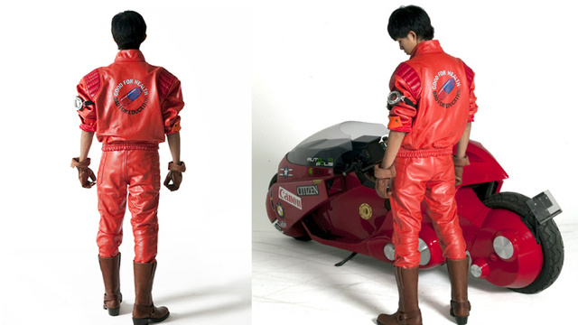 For $900, you can rock Kaneda's jacket from Akira