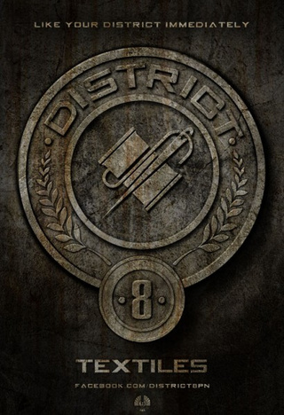 Hunger Games District Posters