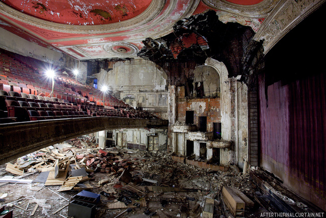 The show will never go on again — the most resplendent abandoned theaters across America