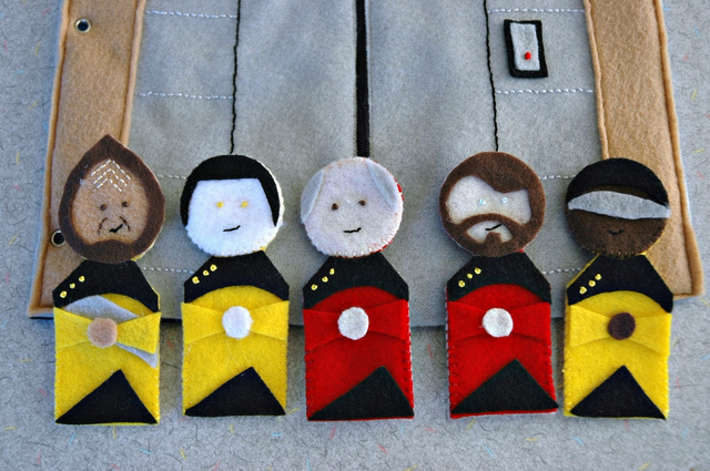 Join cloth Jean-Luc Picard aboard the felt Enterprise