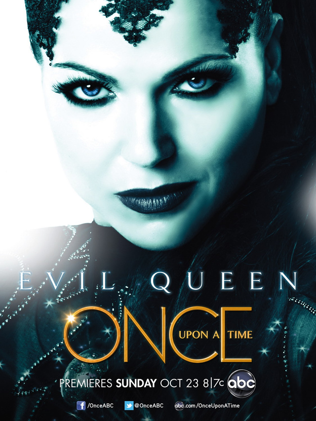 Once Upon a Time Character Posters