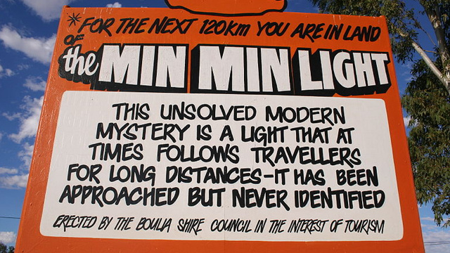 Min Min light, the phantom glow that chases confused motorists in Australia