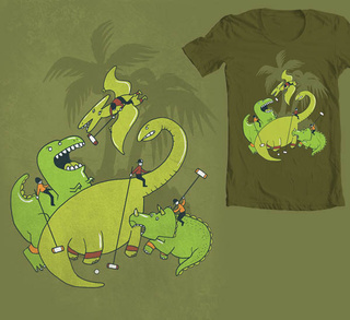 A crop of t-shirt designs that are as good as zombies crossed with robots