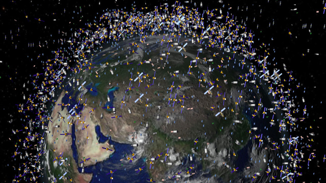 Has the space junk in Earth orbit really reached a dangerous tipping point?