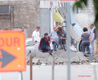 More Man of Steel set photos