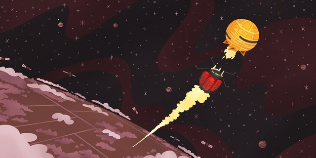 "Read David Bowie's ""Space Oddity"" transformed into the saddest children's book ever"