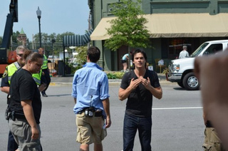 The Vampire Diaries set photos