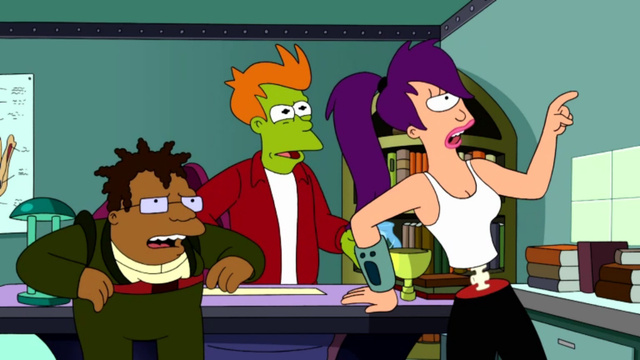 Futurama reveals more than we ever wanted to know about Dr. Zoidberg