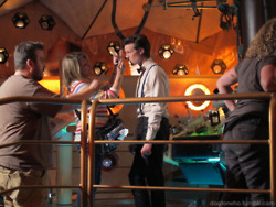 Doctor Who Behind the Scenes Set Pictures