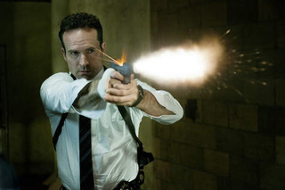 First Photo of Jason Patric as a Cop Amongst Superheroes, in Powers