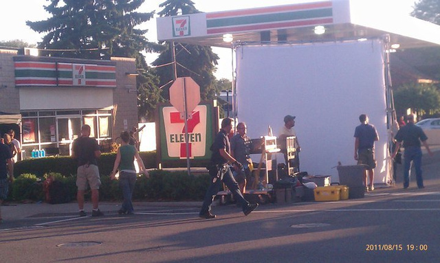 Man of Steel set photos and photos of Amy Adams as Lois Lane