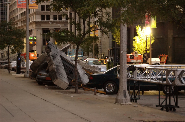 The Avengers Cleveland Set Photos