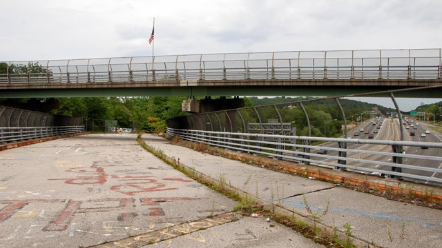 Take a stroll down Staten Island's freeway to nowhere