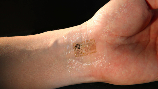 Mark-of-the-Beast Breakthrough... Electronic Circuits That Are Integrated With Your Skin