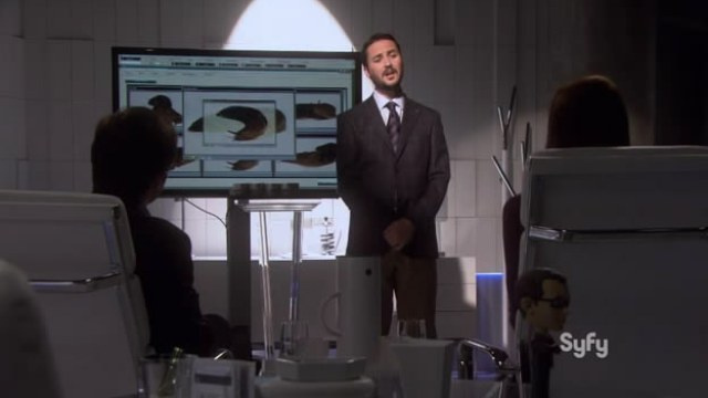 Wil Wheaton says the technobabble on Eureka is better than Star Trek's