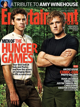 The Hunger Games Entertainment Weekly Cover