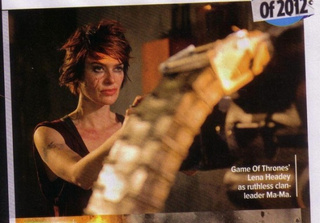 Dredd Pictures from Empire Magazine