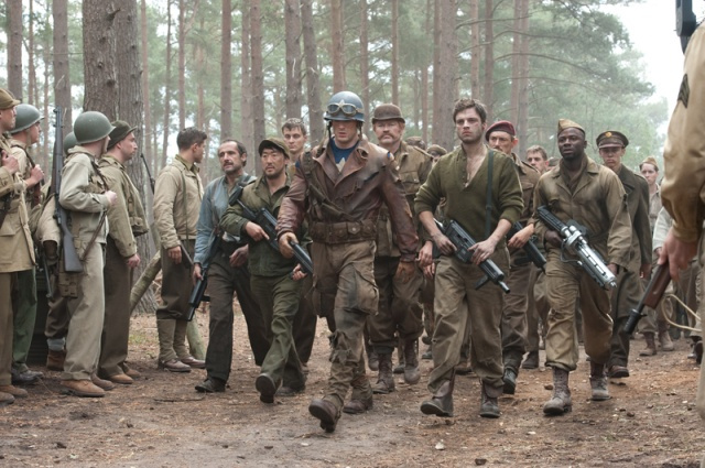 Captain America is an incredible war movie that just happens to star a superhero