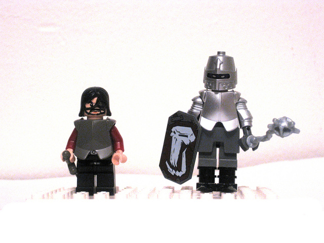 Game of Thrones Lego minifigs totally rule!