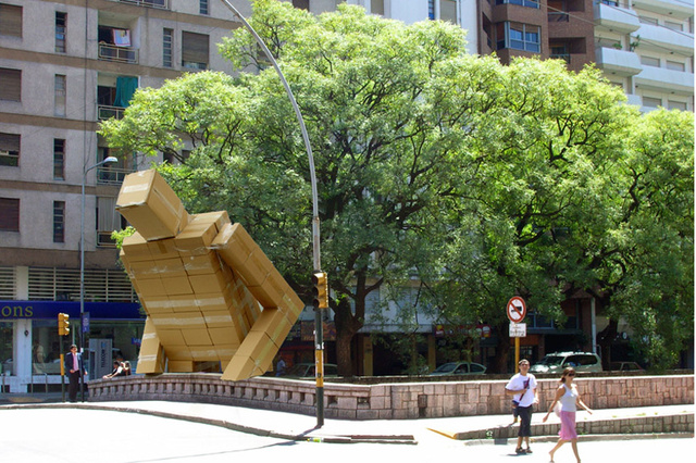 Beware the cardboard kaiju of Argentina