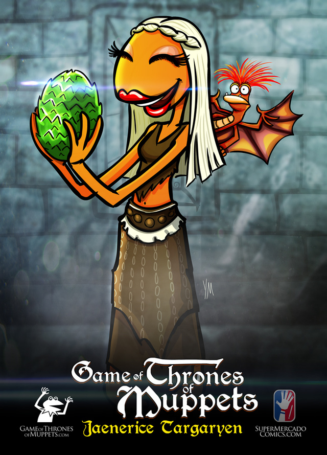 Kermit the Stark? Game of Thrones Muppet posters are made of Win