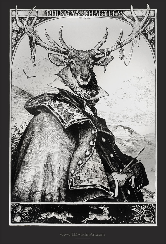 The stag who wore a greatcoat had some peculiar opinions