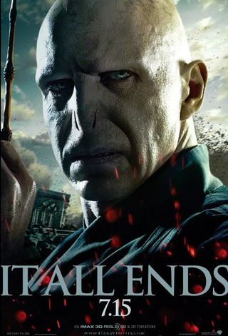 Harry Potter 7 Voldemort poster