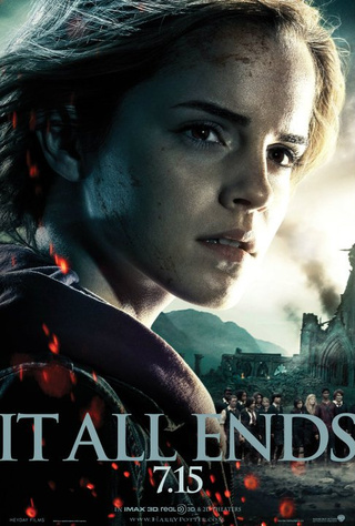 Harry Potter and the Deathly Hallows Part II Hermoine Poster