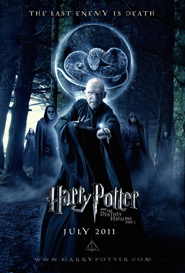 Harry Potter and the Deathly Hallows part 2 posters