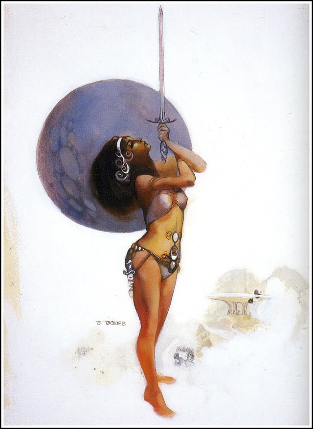 R.I.P. Jeffrey Catherine Jones, One of Fantasy's Greatest Artists