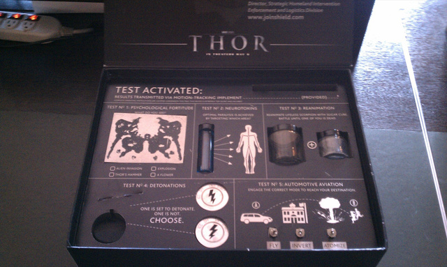 Thor press kit causes bomb scare in bus terminal